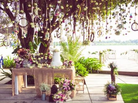 Tiệc cưới ngoài trời sang trọng và đẳng cấp