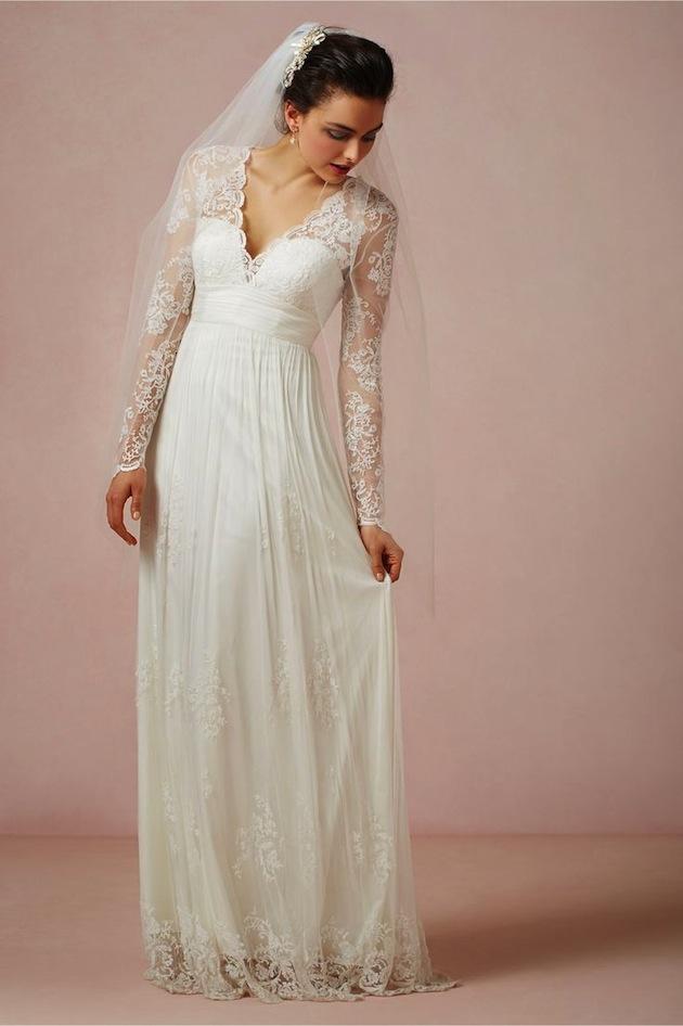 Váy cưới đơn giản có thể tự may