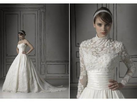 Váy cưới đặc biệt kiểu kết hợp 2 trong 1