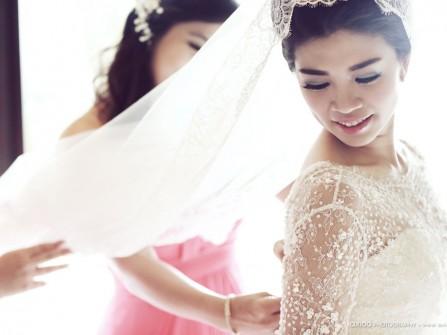 Bí quyết làm đẹp: Lịch trình làm tóc hoàn hảo cho cô dâu