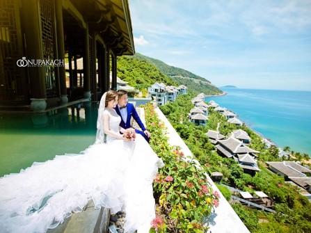Xu hướng chụp ảnh cưới tại resort, khách sạn cao cấp