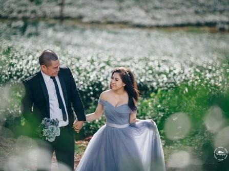 Bảo Lộc đẹp tuyệt vời trong bộ ảnh cưới lãng mạn
