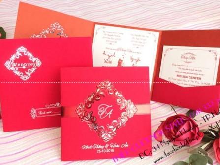 Thiệp cưới Huế