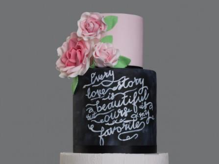 12 mẫu bánh cưới thời thượng năm 2016