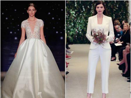 Gợi ý thời trang cưới Xuân - Hè 2016 cho cô dâu cá tính