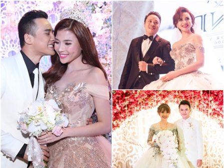 Những đám cưới đình đám của sao Việt nửa đầu năm 2016