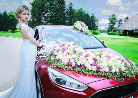 Ford Focus đồng hành cùng Top Look Bridal