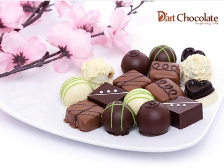 D'Art Chocolate - cảm hứng sáng tạo từ sô cô la