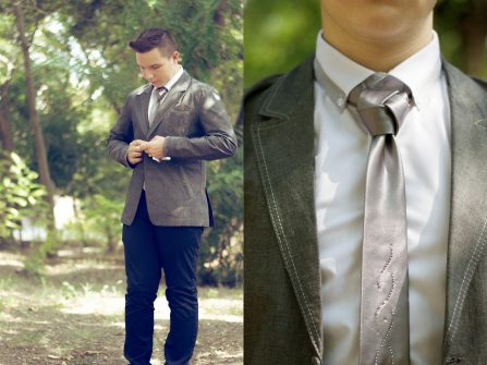 Hướng dẫn thắt cravat: kiểu nút Trinity