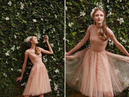 Váy ren ngắn - lựa chọn hoàn hảo cho lễ dạm ngõ