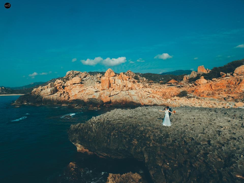 Địa điểm chụp ảnh cưới: Vịnh Vĩnh Hy, Ninh Thuận