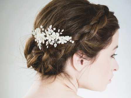 Những kiểu tóc thắt bím tuyệt đẹp để phối cùng áo dài cưới