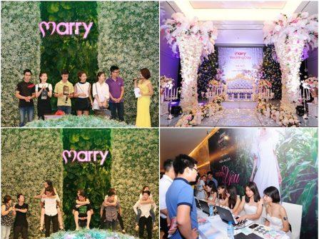 Rộn ràng khai mạc Marry Wedding Day Hà Nội 2016