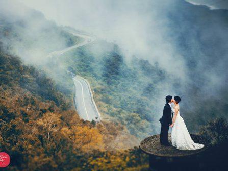 Địa điểm chụp ảnh cưới: Đèo Hải Vân, Huế