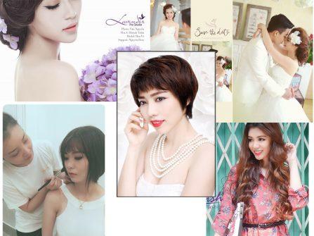 Phong cách công chúa là style trang điểm ưa chuộng của cô dâu Cần Thơ năm 2016
