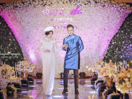 Áo dài thiết kế cho mùa cưới 2017_Quyên Nguyễn Bridal