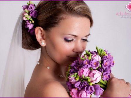 Hoa cưới đất sét - đẳng cấp mới khi lựa chọn hoa cưới cầm tay