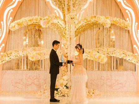 Cận cảnh lễ cưới thần tiên của Trần Nghiên Hy tại Đài Loan