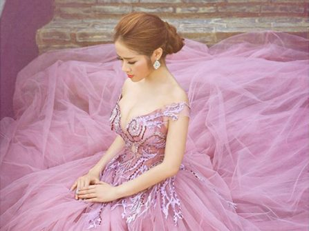Kim Tuyến Bridal ưu đãi giá thuê đồng giá 8.888.000đ cho dòng áo thiết kế Luxury