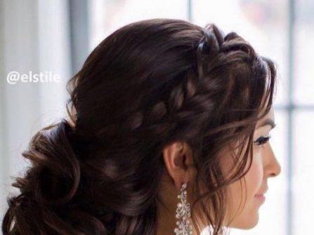 Tóc cô dâu đẹp uốn lọn, thắt bím và búi rối lãng mạn