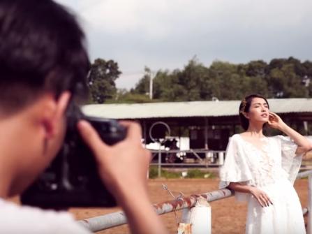 Ảnh hậu trường Marry Wedding Day HCM 2016 - Tình Thu: tự  nhiên và phóng khoáng