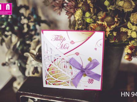 Thiệp cưới Hải Nhung