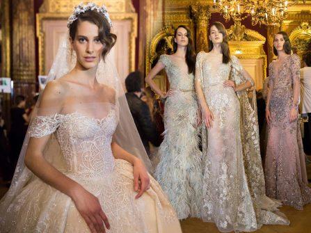 Mê đắm nét nữ tính trong bộ sưu tập váy cưới Ziad Nakad 2017