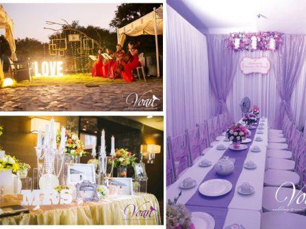 Ý tưởng trang trí tiệc cưới tuyệt đẹp cho ngày trọng đại
