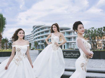 """Bộ sưu tập """"Flowers in love"""" của Quyên Nguyễn Bridal"""