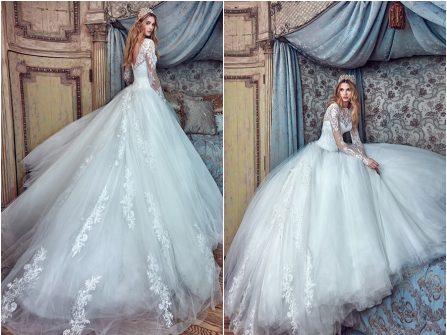 Váy cưới đẹp tuyệt vời phong cách công chúa cổ tích