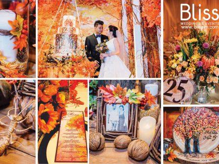 Tiệc cưới mùa Thu ấn tượng của cặp đôi Sài Gòn