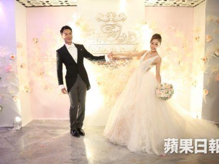 Ngọt ngào đám cưới sao Hồng Công Dương Di - La Trọng Khiêm