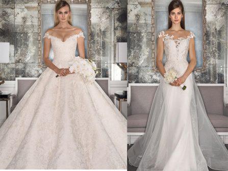 BST váy cưới phong cách hiện đại mùa Thu 2016 từ Romona Keveza