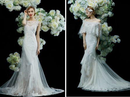 Dịu mắt với BST váy cưới đậm nét nữ tính của Annasul Y's mùa cưới 2017