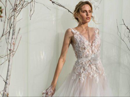 BST váy cưới mang hơi thở mùa xuân của Mira Zwillinger 2017