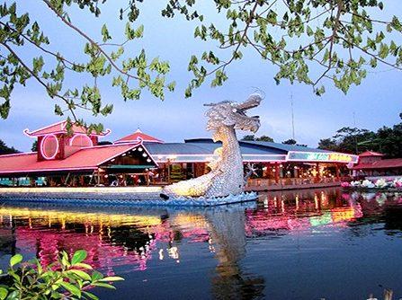 Nhà hàng Thủy Tạ Đầm Sen nơi lý tưởng tổ chức tiệc cưới