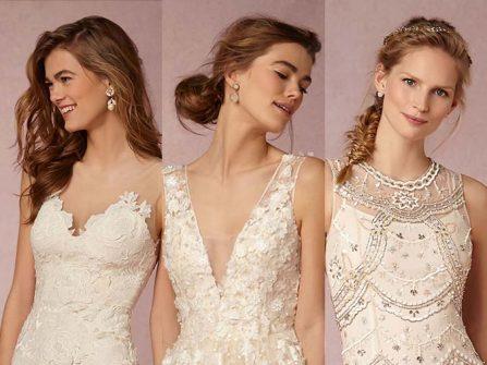 9 kiểu tóc cô dâu đẹp tương thích với phom váy cưới