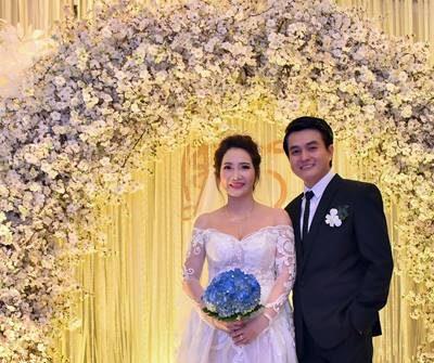 Đầm ấm hôn lễ giản dị của diễn viên Cao Minh Đạt