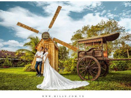 Áo cưới Milan và hành trình 20 năm làm đẹp cho cô dâu Việt