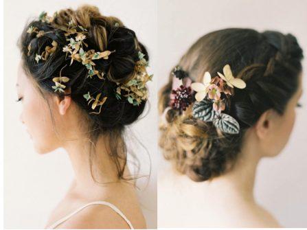 8 cách bới tóc cô dâu kiểu thấp lãng mạn