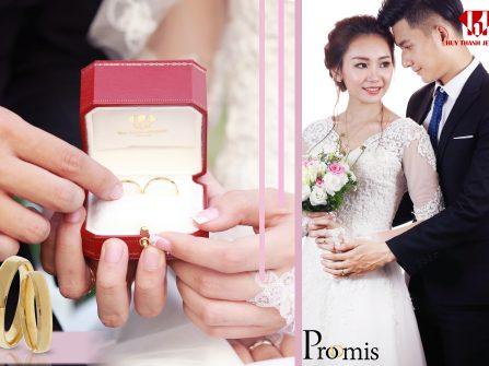 """BST nhẫn cưới """"Promis - Lời Hứa Từ Trái Tim"""""""