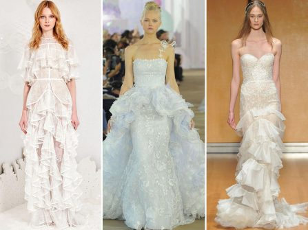 """7 xu hướng váy cưới đẹp tuyệt dự là vô cùng """"hot"""" trong năm 2017"""
