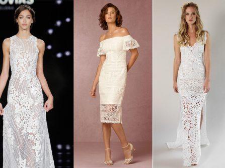 Những mẫu váy cô dâu đẹp mê ly cho đám cưới bãi biển