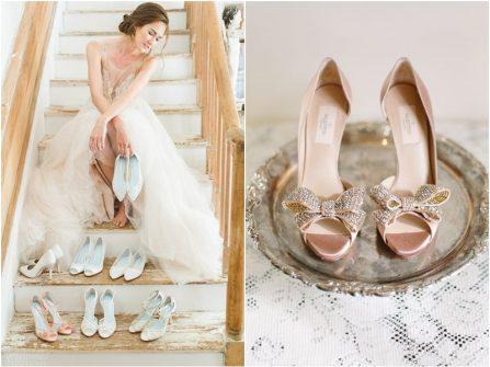 Những thiết kế giày cưới sang trọng và lộng lẫy nhất cho cô dâu