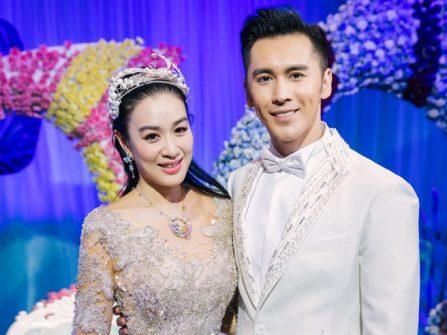 Hôn lễ vui nhộn lấy ý tưởng Mỹ Nhân ngư của sao Hoa ngữ gốc Việt