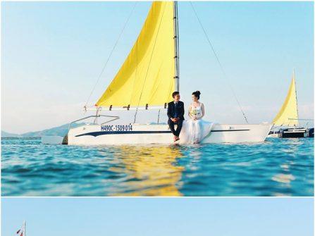 Địa điểm chụp ảnh cưới: Bến du thuyền, Vũng Tàu