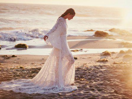 Bộ sưu tập váy cưới phong cách du mục lãng mạn từ Free People