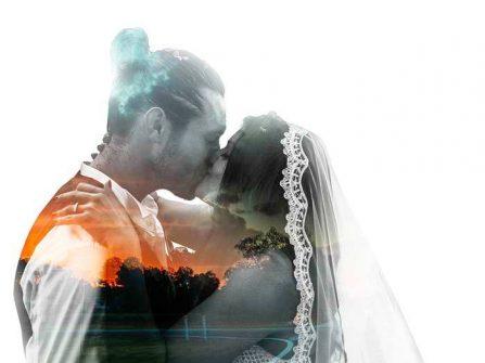 """Chụp ảnh cưới """"độc"""": xử lý ảnh cô dâu chú rể hòa vào không gian thiên nhiên"""