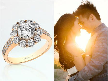 Bí quyết để tìm được chiếc nhẫn đính hôn hoàn hảo
