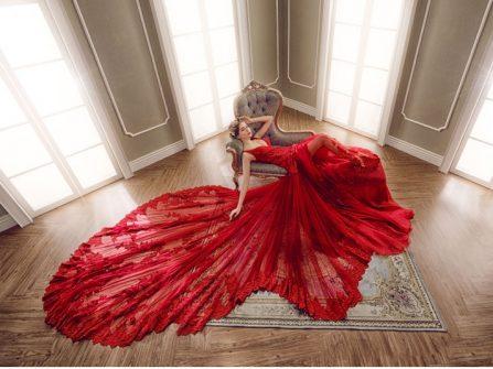 7 sắc màu váy cưới đẹp tuyệt vời mà cô dâu không thể bỏ qua